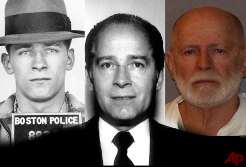 "James ""Whitey"" Bulger booking Photos - Photos/ FBI"