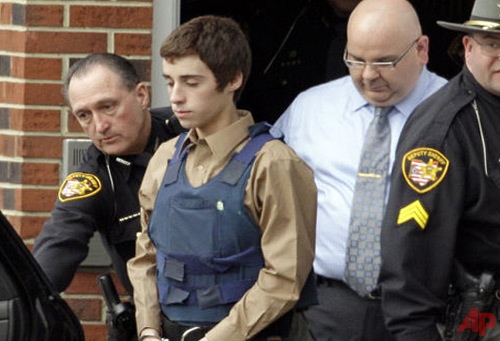 T.J. Lane - High School Shooting in Chardon, Ohio photo / AP - Mark Duncan