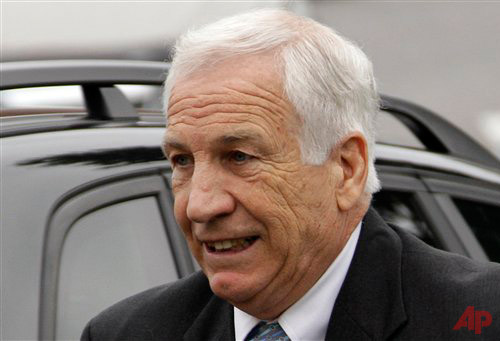 Jerry Sandusky Photo / AP -Gene J. Puskar