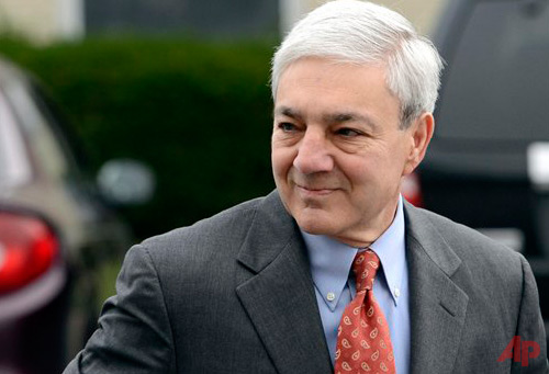 Former Penn State president Graham Spanier  photo / AP Jason Minick, File