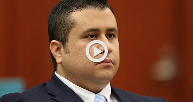 George Zimmerman Mobile Live stream AP