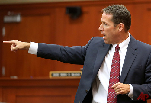 John Guy Assistant State Attorney June 24, 2013 Photo / AP - Orlando Sentinel Joe Burbank, Pool