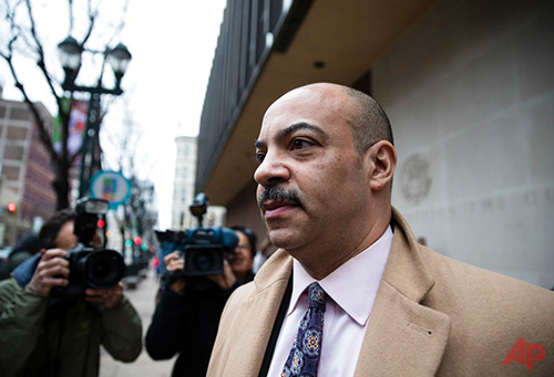 nt his Tuesday, March 28, 2017, file photo, Philadelphia District Attorney Seth Williams departs after a preliminary hearing in his bribery and extortion case at the federal courthouse in Philadelphia. Williams, the city's top prosecutor accused of taking bribes in exchange for legal favors, is set to go on trial on corruption charges. Jury selection gets underway on Monday, June 19, in federal court in Philadelphia. (AP Photo/Matt Rourke, File)