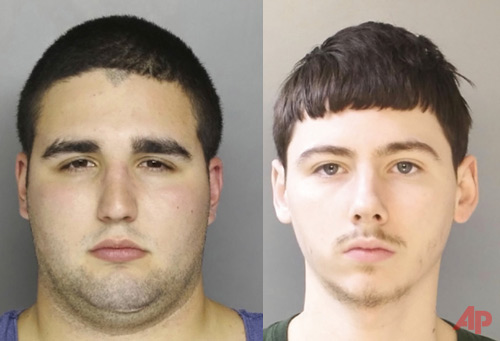This undated photo provided by the Bucks County District Attorney's Office in Doylestown, Pa., shows Cosmo DiNardo, of Bensalem, Pa., an admitted drug dealer with a history of mental illness who was charged Friday, July 14, 2017, with the killings of four Pennsylvania men who vanished a week ago. A second suspect was also arrested and charged in three of the deaths. (Bucks County District Attorney's Office via AP)